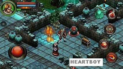 Dungeon Hunter 3 JAVA GAME(G A M E L O F T) | Mobiles